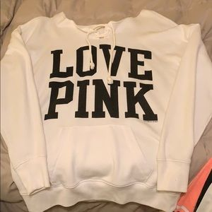 PINK Victoria's Secret Sweaters - VS Pink scoop neck sweatshirt